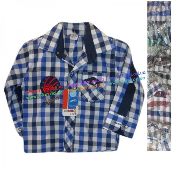 Рубашка для мальчиков Rom700 коттон 5 шт (1-5 лет)