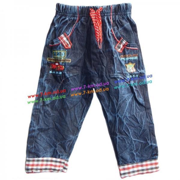 Брюки для мальчиков Vit101b джинс 4 шт (0,9-3 года)