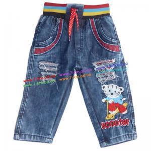 Фото Одежда для Мальчиков, Джинс - Лето Брюки для мальчиков Vit101z джинс 4 шт (0,9-3 года)