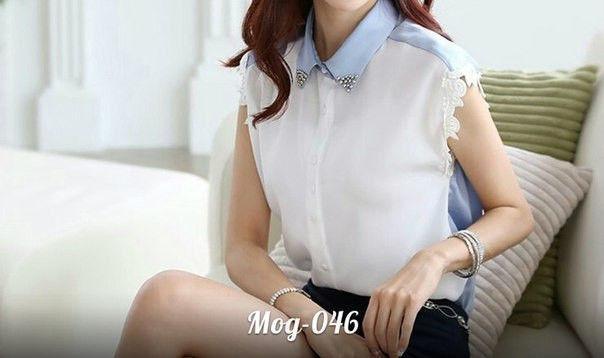 Женская модная блуза ПО046