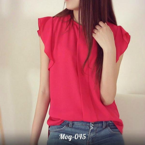 Женская модная блуза ПО045
