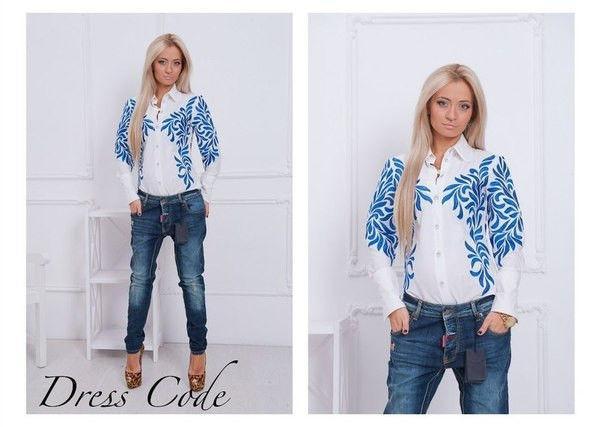 Женская модная рубашка АИ1133