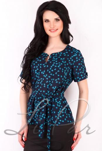 Летняя блузка из штапеля (2061)