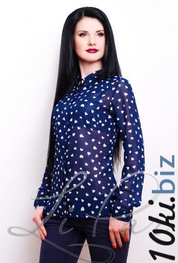 Женская блуза из шифона (2058) - Блузки и туники женские в магазине Одессы