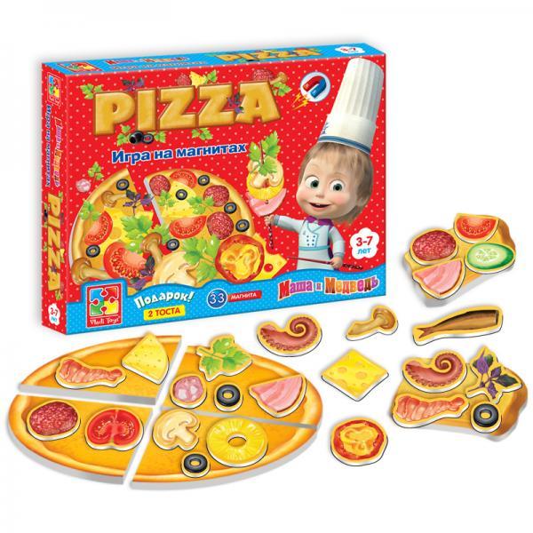 Игра на магнитах «Пицца» Vladi toys VT3003-02