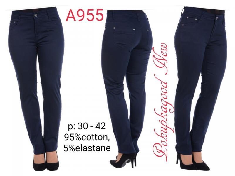 А955, джинсы, 30-42размер