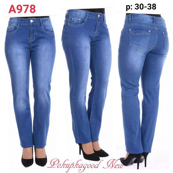А978 код, джинсы, 30-38р