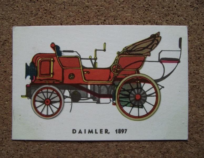 Календарик 1984г. «DAIMLER» (1897г.)