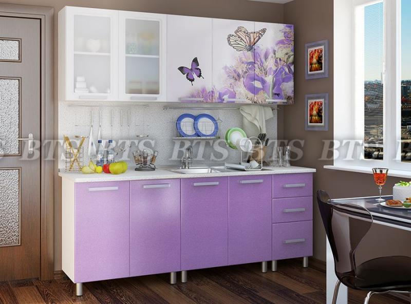 Кухня Люкс Ирис 2,0м(BTS МЕБЕЛЬ)