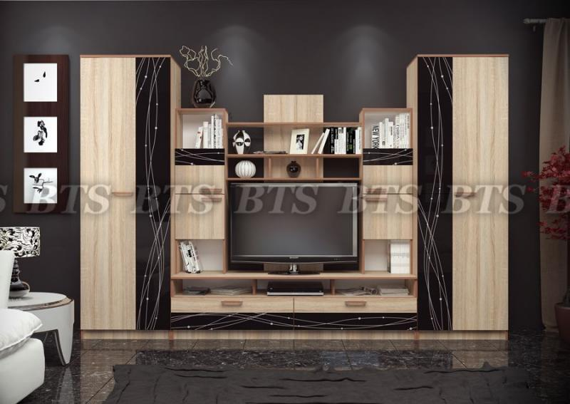 BTS мебель-Гостиная Багира