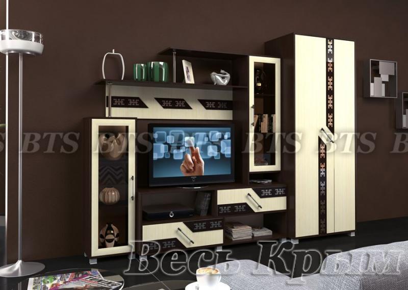 BTS мебель-Гостиная Зодиак Модульная Стенки для гостиных в Крыму