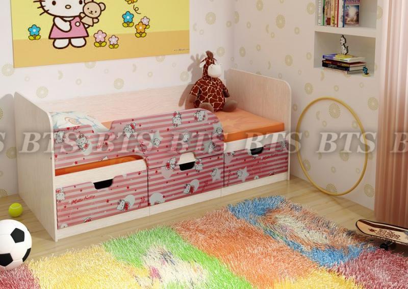 Детская кровать Минима(BTS МЕБЕЛЬ)