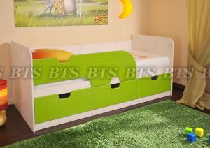 Фото Детские Детская кровать Минима(BTS МЕБЕЛЬ)