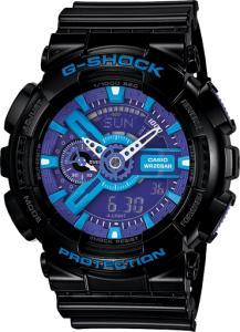 Фото Casio (G-shock) Часы G-shock 110RG, черно-голубые