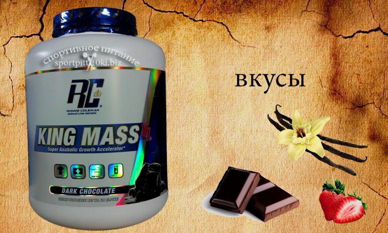 KING MASS XL  6lb (2,75 кг)