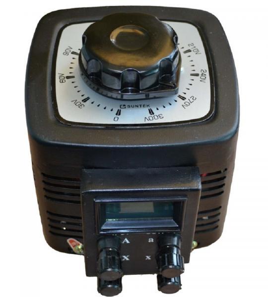 Автотрансформатор ЛАТР SUNTEK 500ВА 0-300 Вольт (2А)
