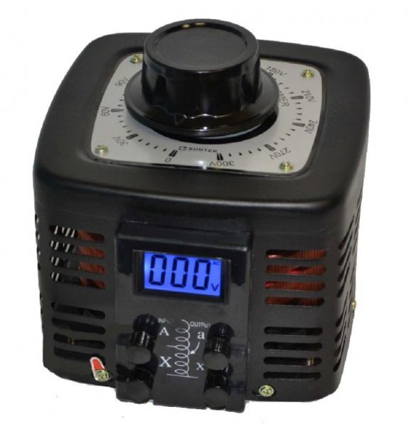 Автотрансформатор ЛАТР SUNTEK 2000ВА диапазон 0-300 Вольт (8А)