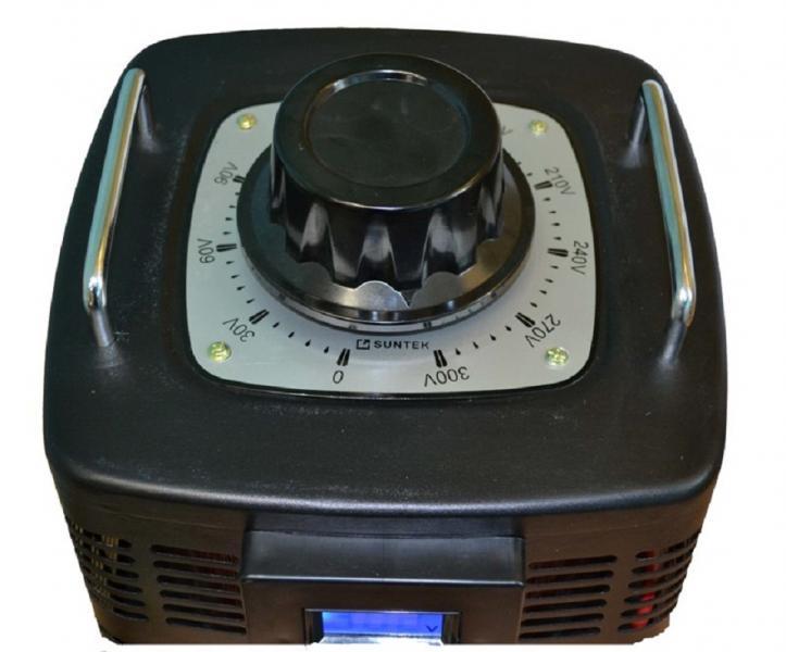 Автотрансформатор ЛАТР SUNTEK 3000ВА диапазон 0-300 Вольт (12А)