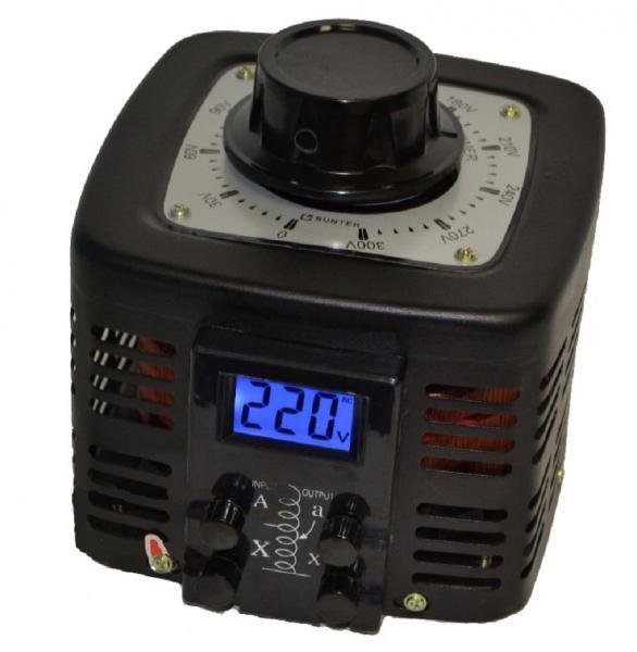 Автотрансформатор ЛАТР SUNTEK 1000ВА диапазон 0-300 Вольт (4А)