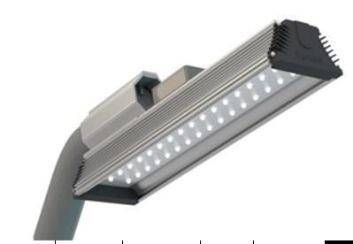 Уличный консольный светильник 55Вт
