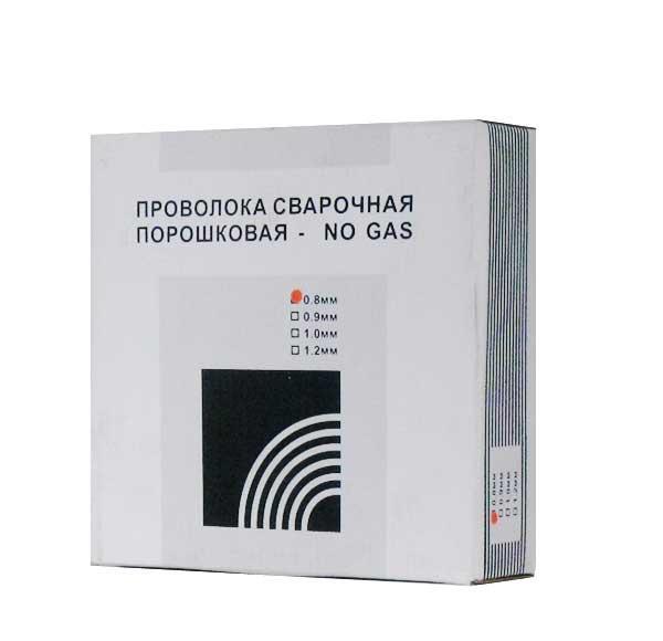 Проволока сварочная порошковая ( флюс) NO GAS d 0.8 5 кг D200
