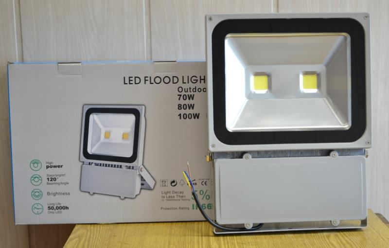 Прожектор светодиодный 100 Вт 6500К
