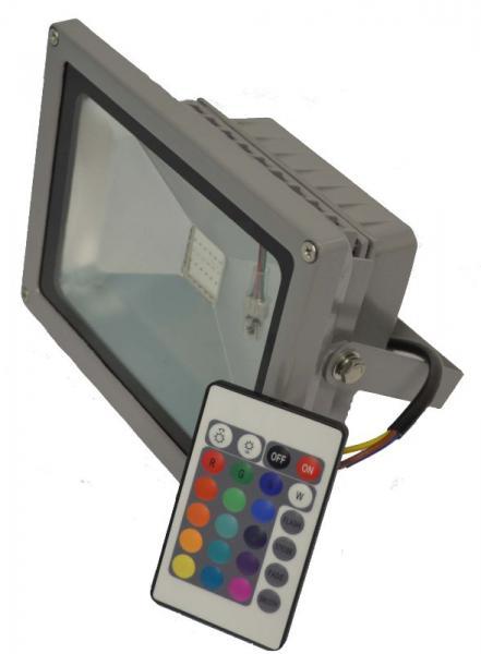 Прожектор светодиодный RGB 20 ватт