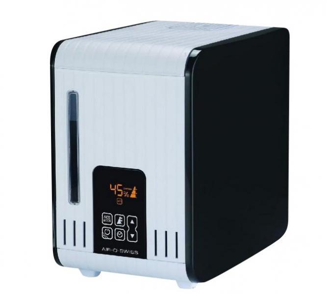 Увлажнитель AOS S450 (горячий пар) цвет: черный/black