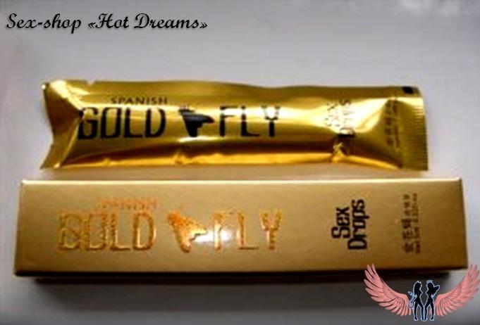 Фото Возбуждающие препараты для женщин (афродизиаки, капли, порошки, жвачки, таблетки, капсулы, крема) Женский возбудитель Gold Fly, Золотая мушка (12 шт)