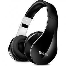 Наушники с микрофоном SVEN AP-В450MV,black-white
