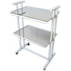 Столик инструментальный СИ-2 (стекло-металл)
