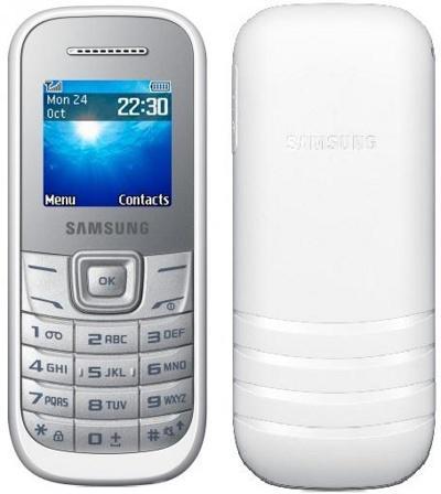 Сотовый телефон Samsung GT-E1200R,Белый/White