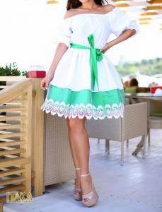 Фото Платья, туники короткие, без рукава. Платье женское