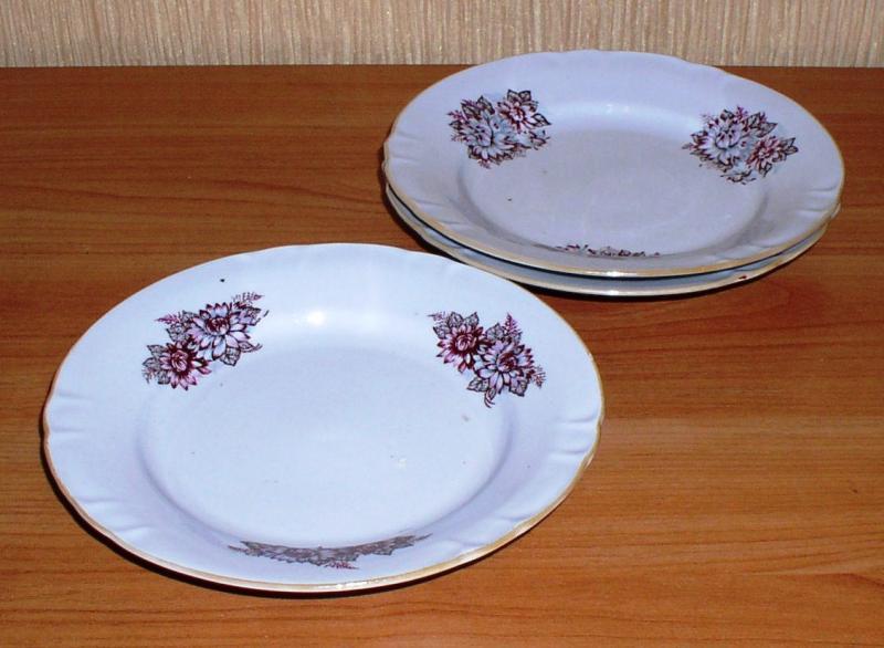 Тарелки салатные (малые) *3879