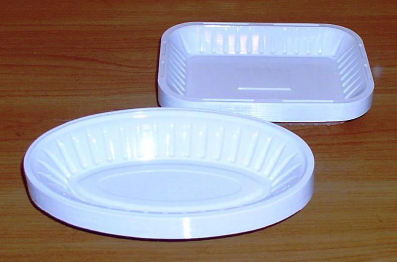 Тарелки одноразовые пластиковые *3883 *6295 *6296