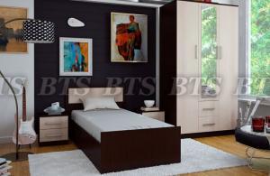 Фото Кровати Фиеста кровать 0,9 м(BTS МЕБЕЛЬ)