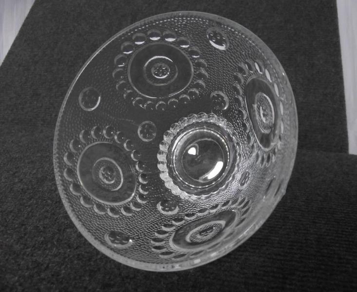 Конфетница / Салатница стеклянная