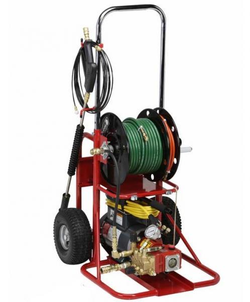 Гидродинамическая прочистная машина с электрическим двигателем Spartan 717
