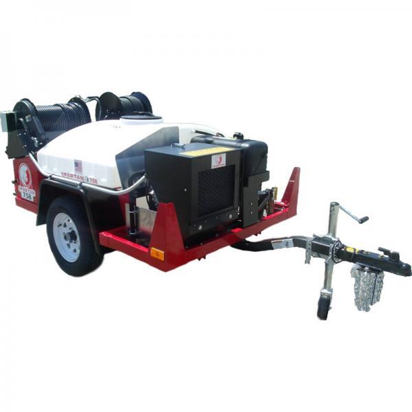 Каналопромывочная машина на прицепе Spartan 758