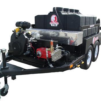 Каналопромывочная машина на прицепе Spartan model 746