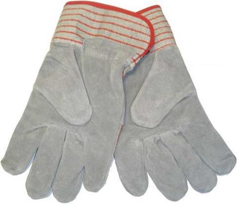 Кожаные перчатки с металлическими вставками D-SPG