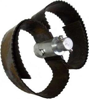 Тандемная насадка для окончательной очистки труб 250 мм HDD-10-TH
