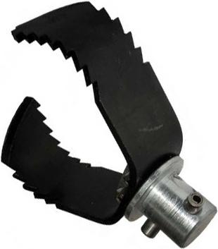 Насадка 60 мм для очистки от жира труб 75 мм с лезвием для тяжелых засоров U-3H