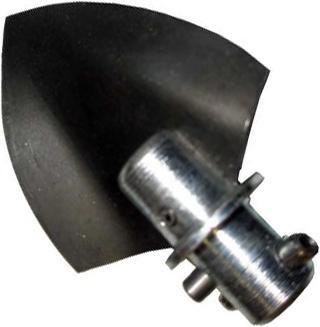 Насадка 75 мм для удаления твердых отложений в трубах от 100 мм A-2-3DC