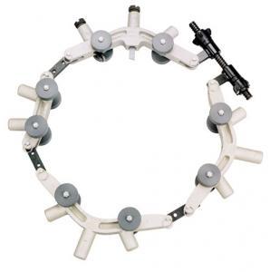 Фото  Роторный труборез для труб ПЭ и ПВХ большого диаметра