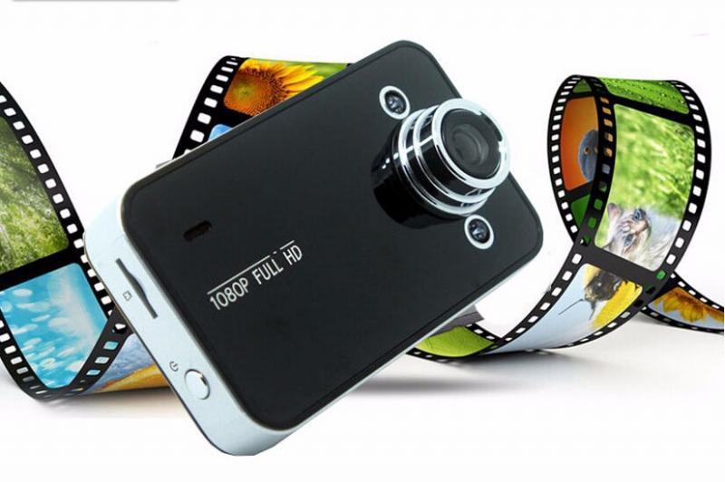 """Видеорегистратор автомобильный Globex HQS-215 Full HD 1080 P обнаружения движения ночного видения 2.4 """"дюйма зкран"""