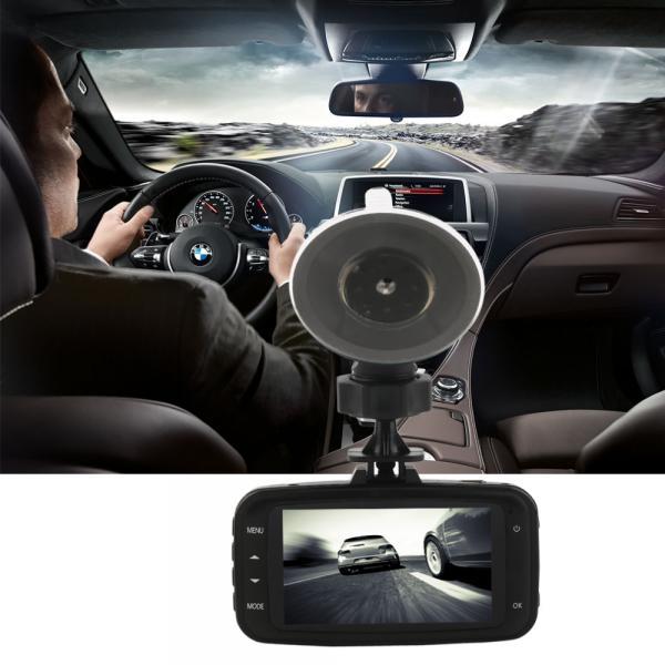 """Видеорегистратор автомобильный GS8000L обнаружения движения Full HD 1080 P ночного видения 2.7 """"дюйма зкран G-сенсор"""