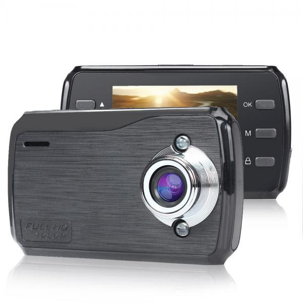 """Tiptop L720 Видеорегистратор автомобильный обнаружения движения Full HD 1080 P ночного видения 2.4 """"дюйма зкран G-сенсор"""