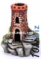 Декорации для аквариума - К-56 Башня на камнях