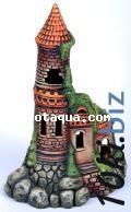 К-64 Замок большой с башней Декорации для аквариума в России